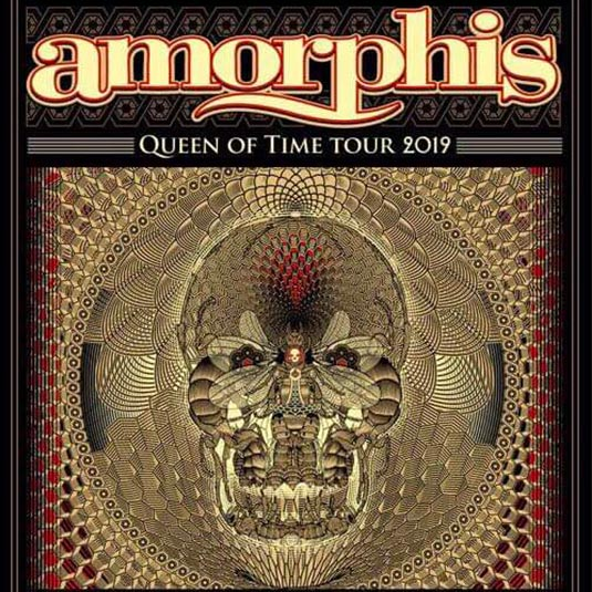 AMORPHIS + GAME ZERO Live - KIEV - MINSK 05-06 March 2019