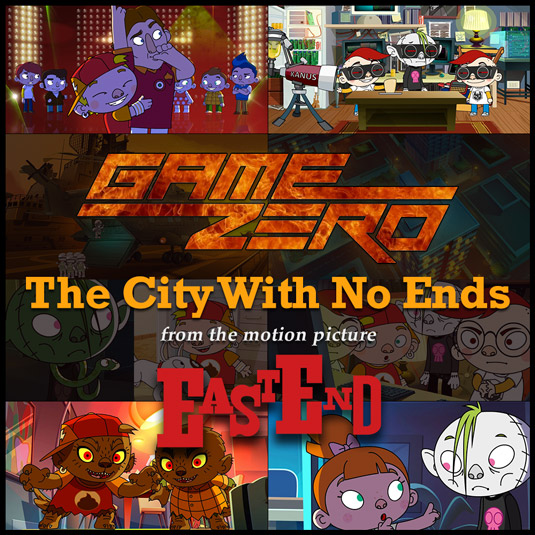 Out now in italian cinemas EAST END movie! GAME ZERO are in the Official Soundtrack with the song The city with no ends